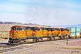 BNSF 4448 at Dalies, NM on November 29, 2013.