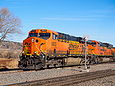 BNSF 5823 at Palmer Lake, CO on January 18, 2014.