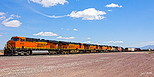 BNSF 6438 at Dalies, NM on April 12, 2012.