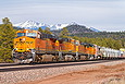 BNSF 6654 at Maine AZ on March 24, 2012.