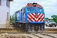 METX (Metra) 203 leaves Joliet, IL Union Depot on June 4, 2013.
